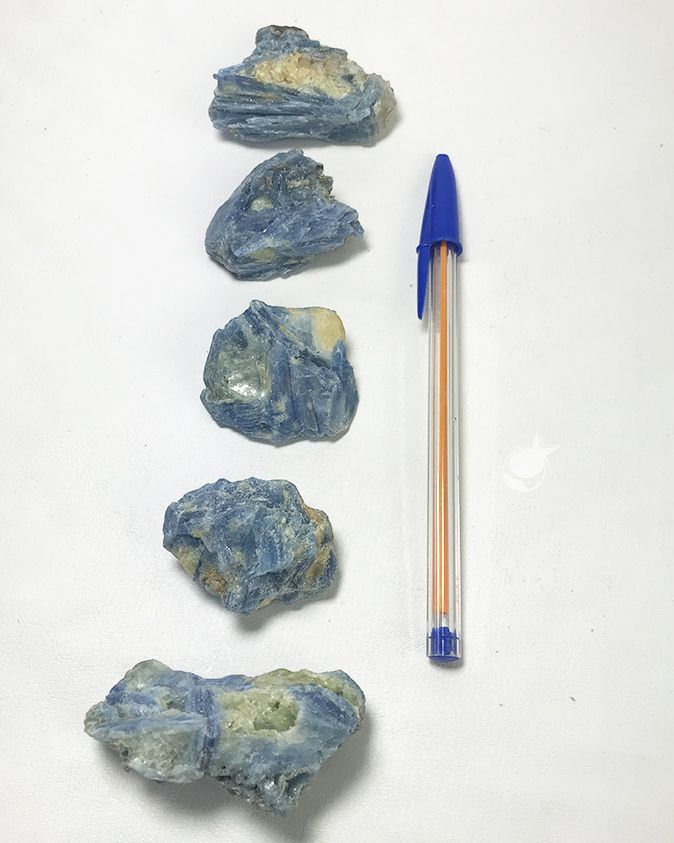 CIANITA AZUL   - UNIDADE - média de 4 a 5 cm ( 40 a 50g)