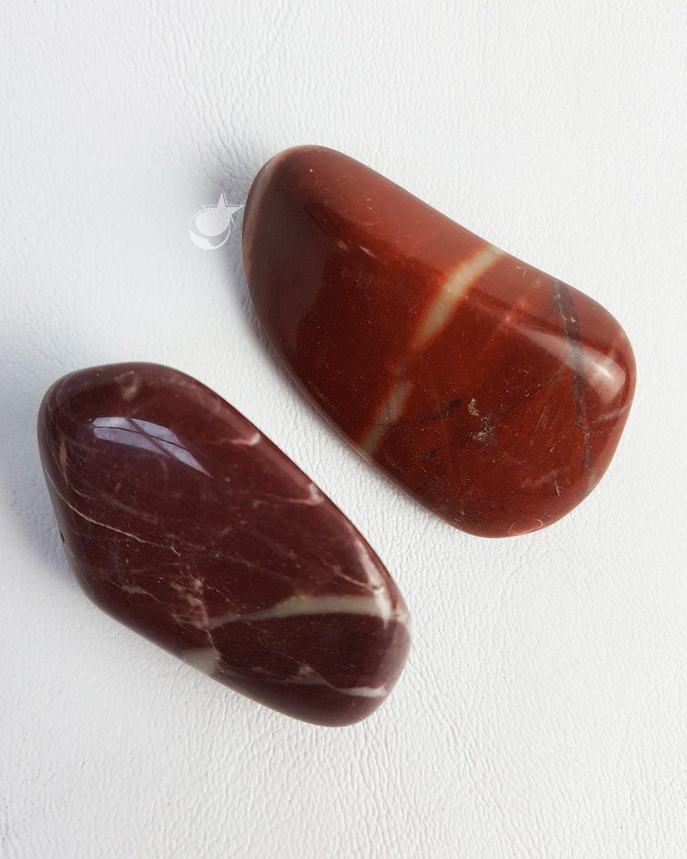 DOLOMITA VERMELHA ROLADA  - PACOTE 50g (2 a 3 pedras)