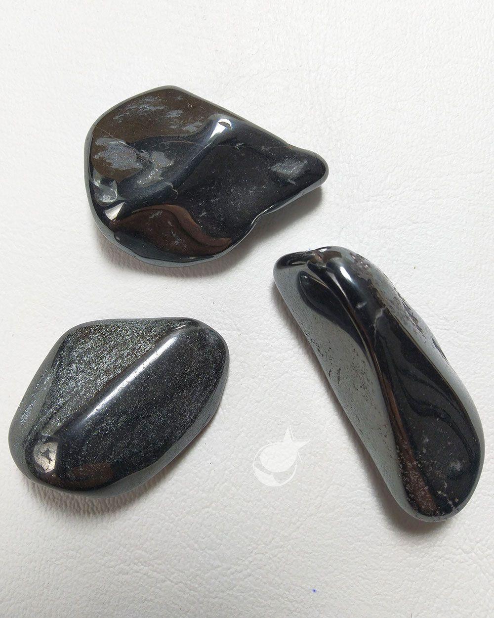 HEMATITA ROLADA - PACOTE 50g - (2 a 3 pedras)