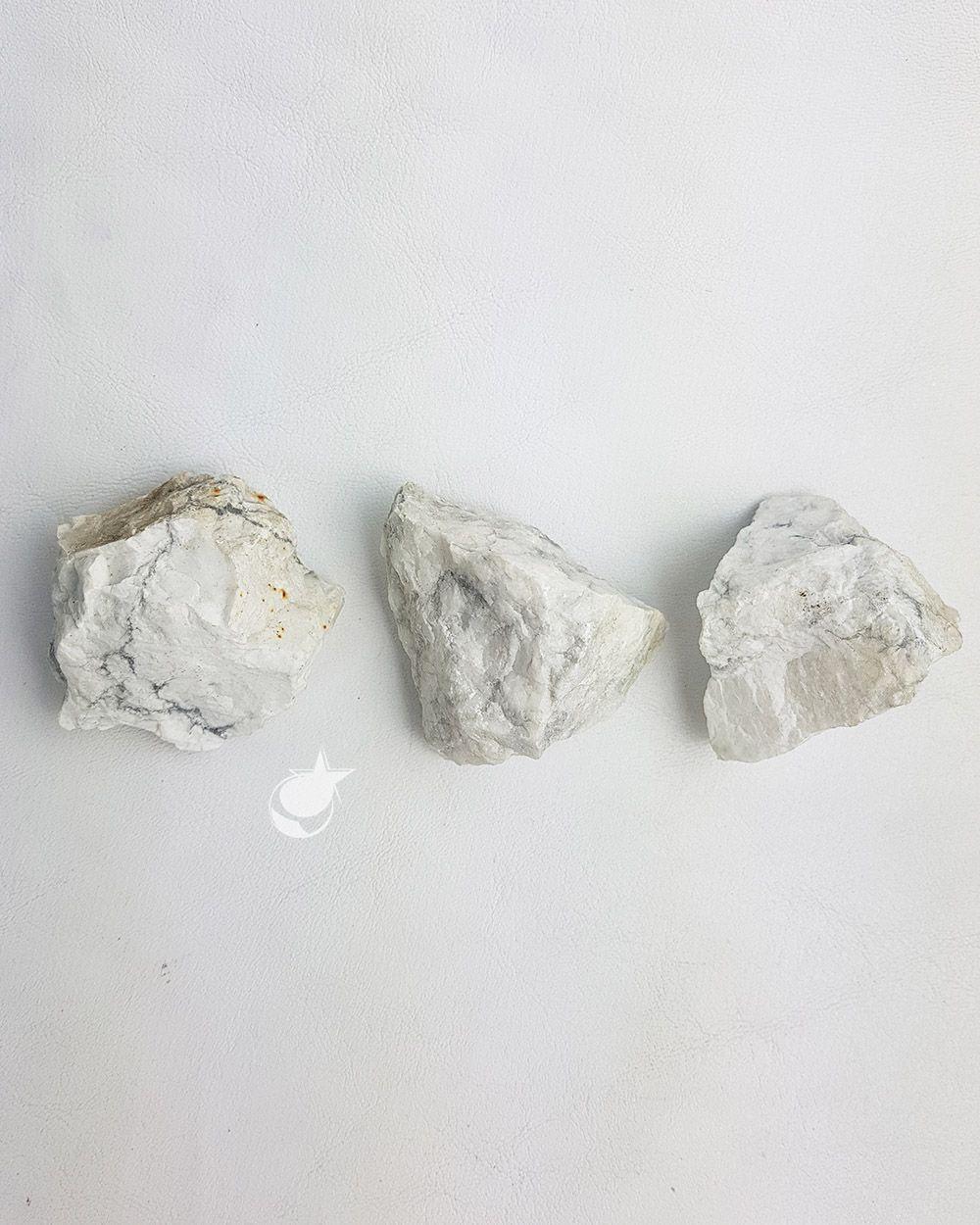 HOWLITA BRUTA - UNIDADE - média entre 6 a 7,8 cm