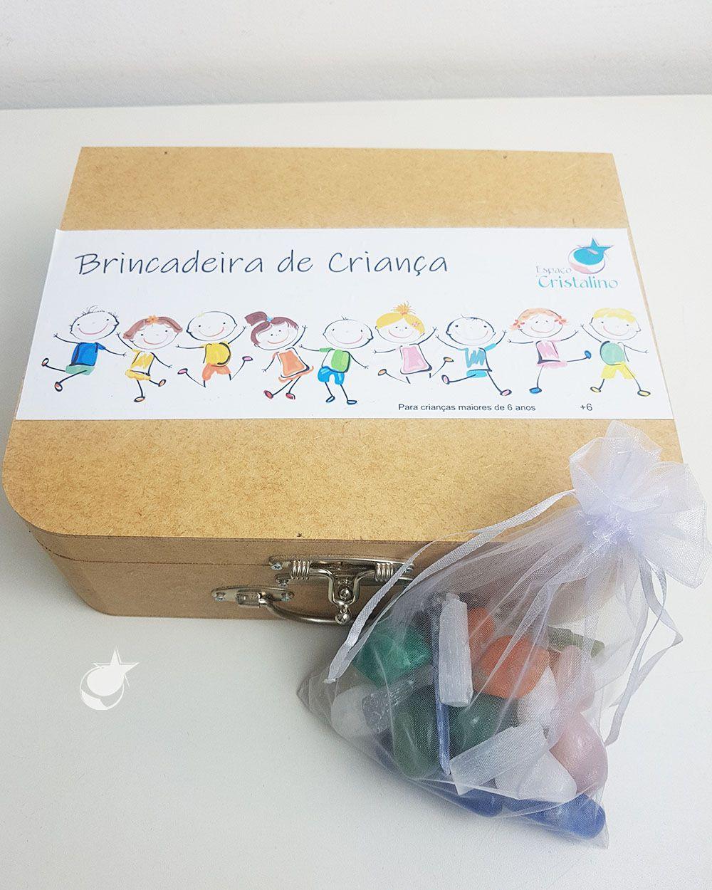 KIT CRISTAIS BRINCADEIRA DE CRIANÇA
