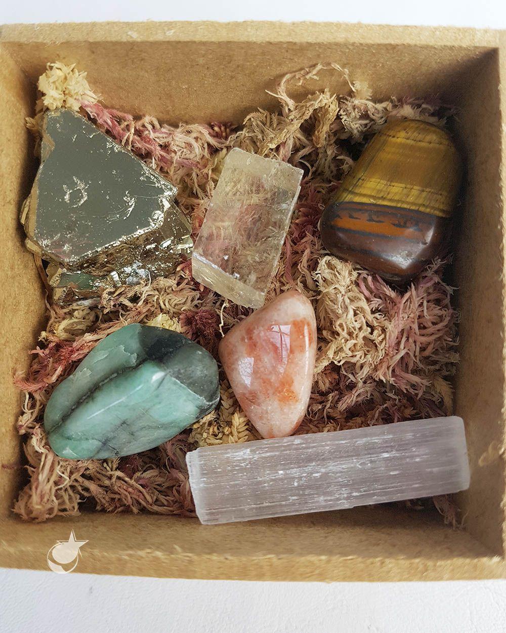 Kit cristais para Prosperidade
