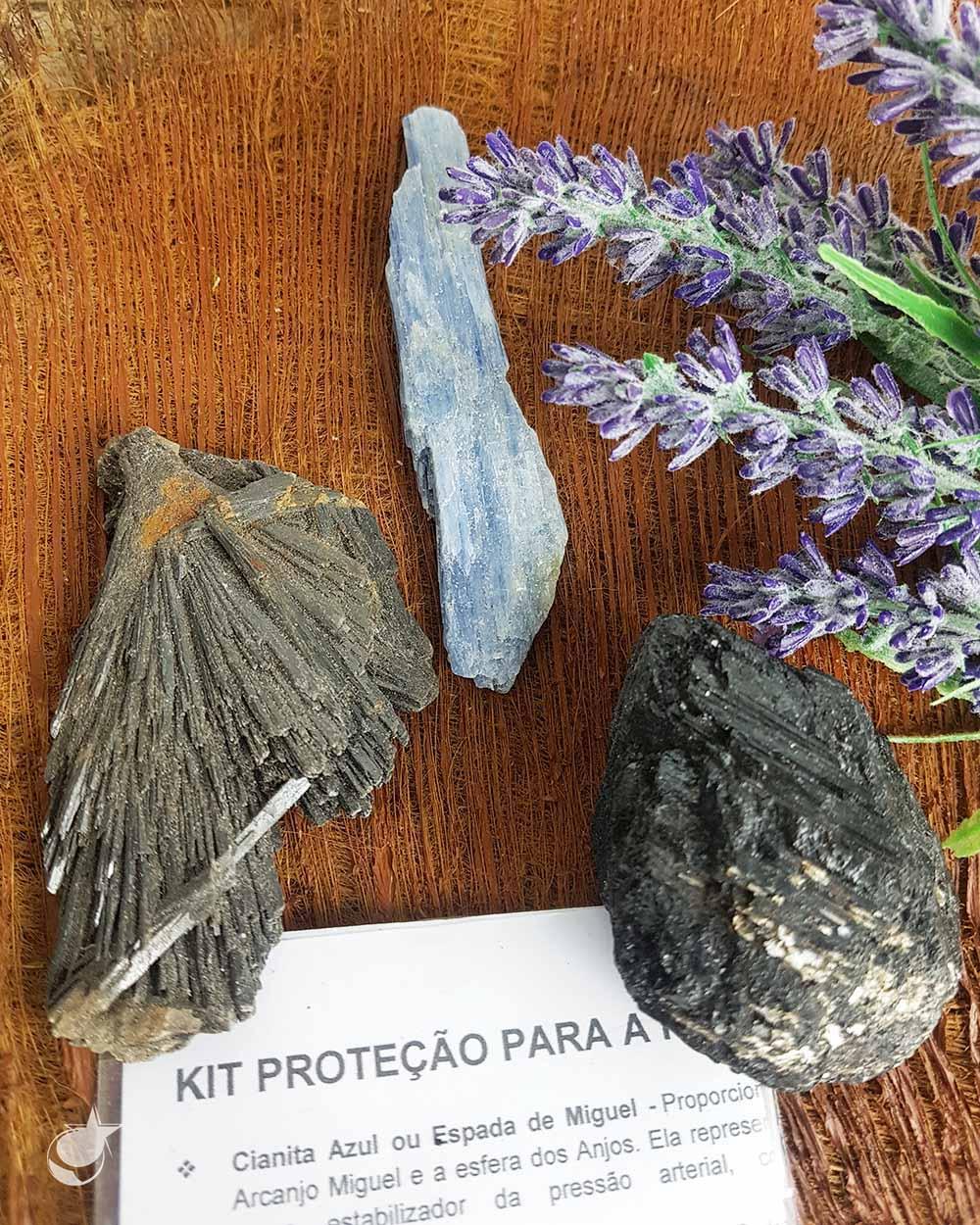 KIT CRISTAIS PROTEÇÃO PARA A PORTA DE ENTRADA - 220g