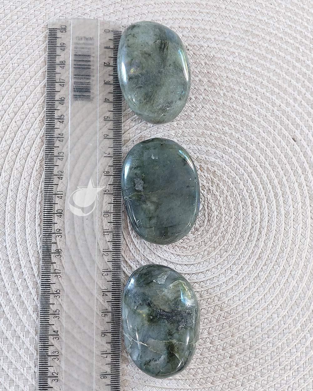 LABRADORITA - SABONETE - UNIDADE - 5 a 5,5 cm - ( 47 a 57g)
