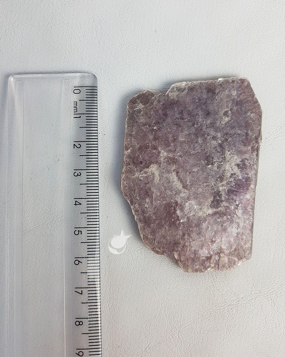 MICA LILÁS BRUTA - UNIDADE - média de 6 a 7 cm