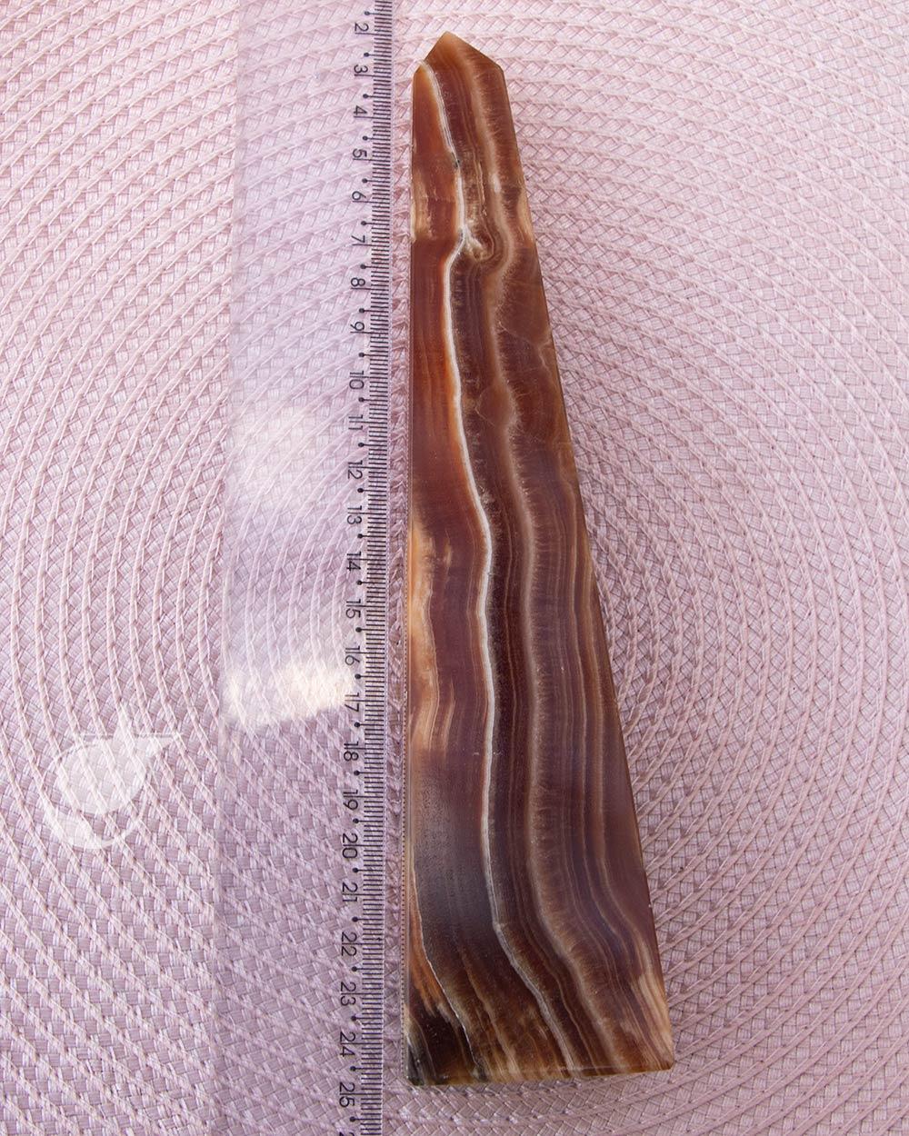 OBELISCO DE ALABASTRO - 22 cm
