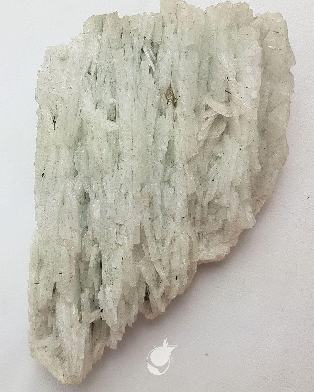 PEDRA DA NEVE/ ALBITA/ FELDSPATO BRANCO/- 12,5 cm