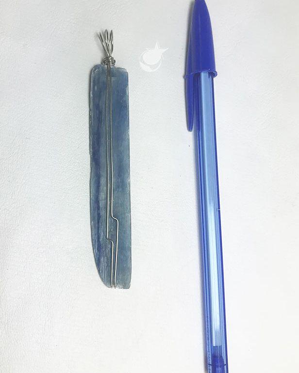 PINGENTE CIANITA -   8 cm