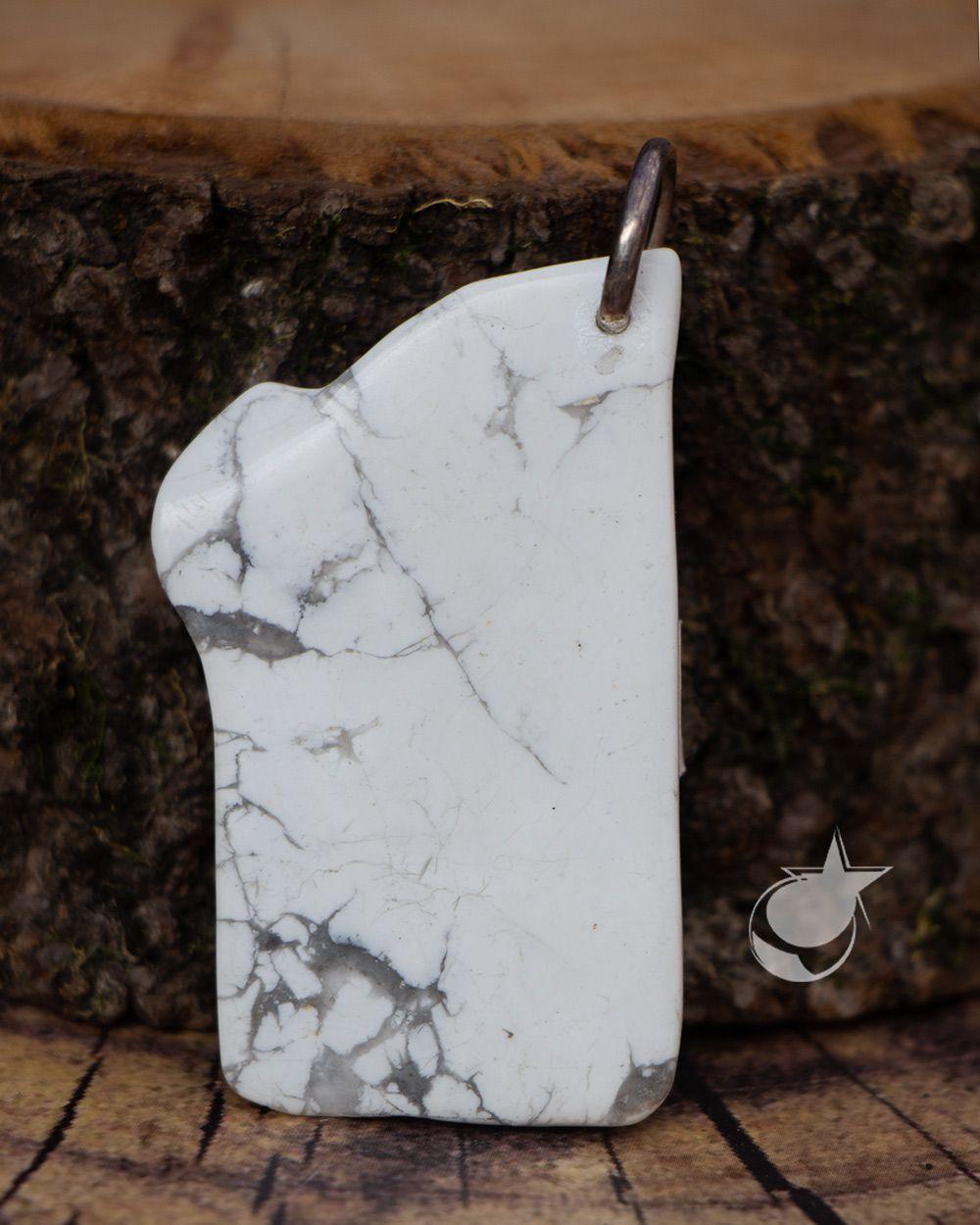 PINGENTE DE HOWLITA - 5 cm