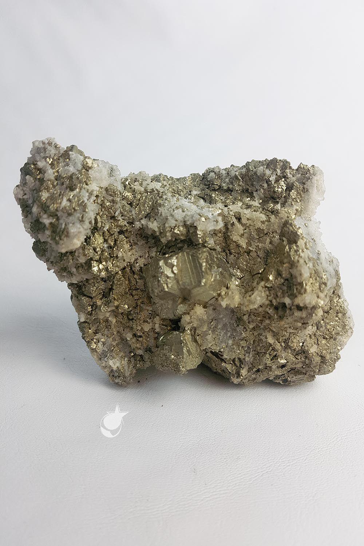 PIRITA COM CRISTAIS -  11,7 cm