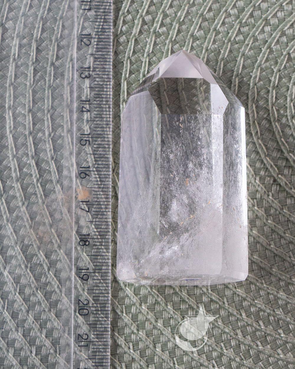 PONTA DE CRISTAL - UNIDADE - 6,5 a 7 cm - (120 a 125g)