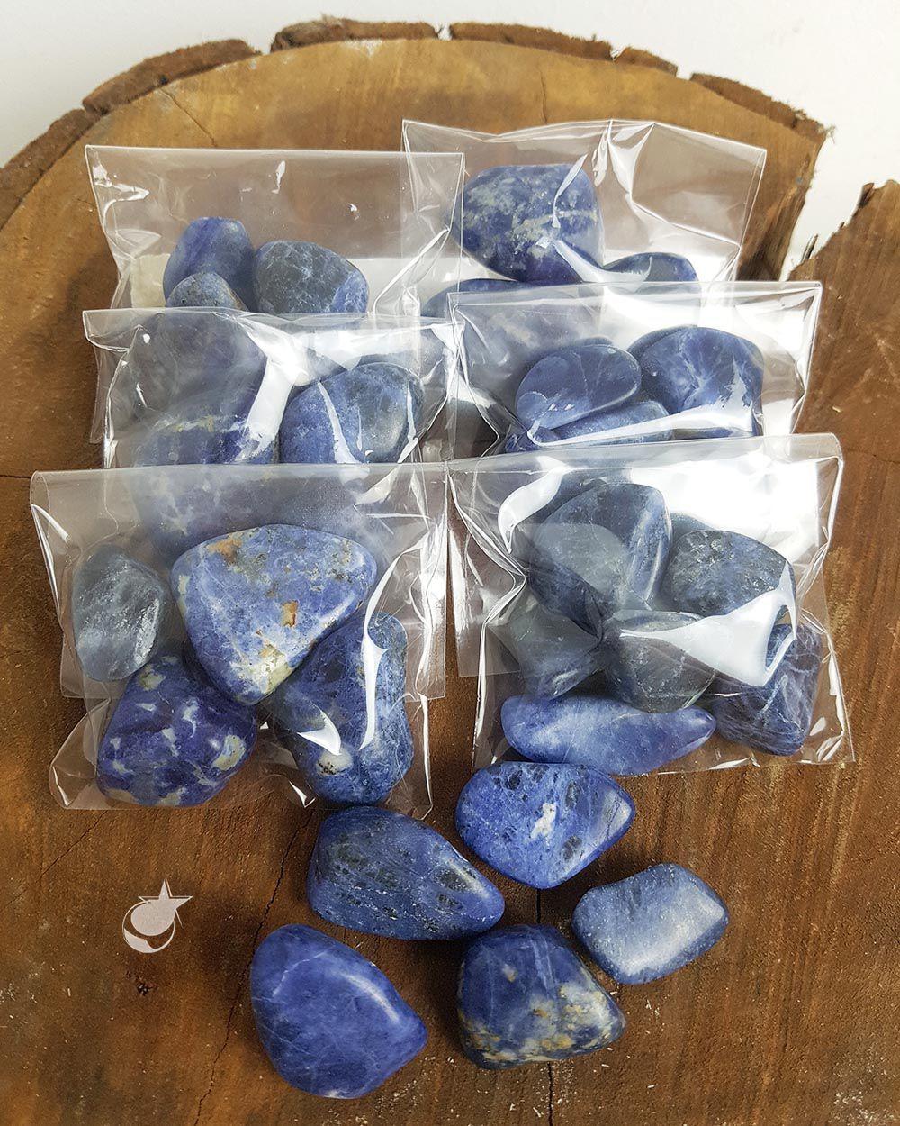 SODALITA ROLADA -  PACOTE COM 30g (4 a 5 pedras)