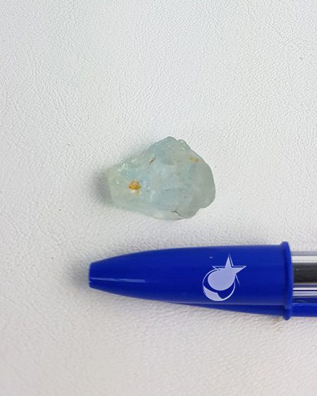 TOPÁZIO AZUL BRUTO -  UNIDADE -  0,5 a 1 cm