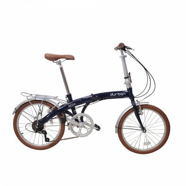 Bicicleta Dobrável Durban Eco+ Aro20 Freios V-brakes Azul
