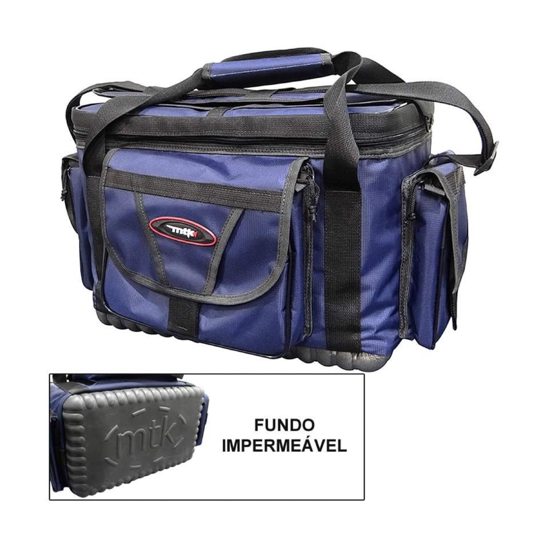Bolsa De Pesca MTK Pro Master G Azul
