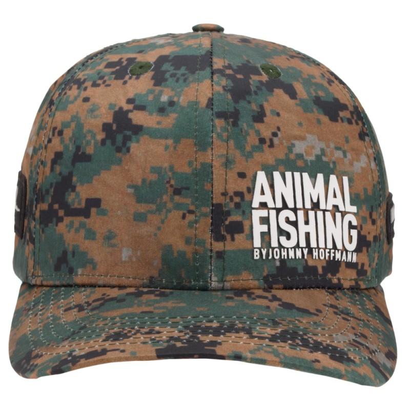 Boné Animal Fishing By Johnny Hoffmann - Camuflado  - Pesca Adventure