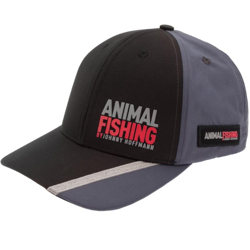 Boné Animal Fishing By Johnny Hoffmann - Preto E Cinza
