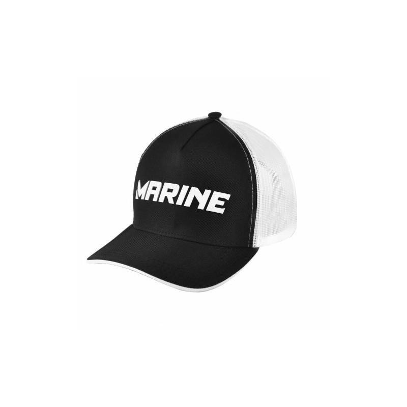 Boné Marine Americano Pescador Preto