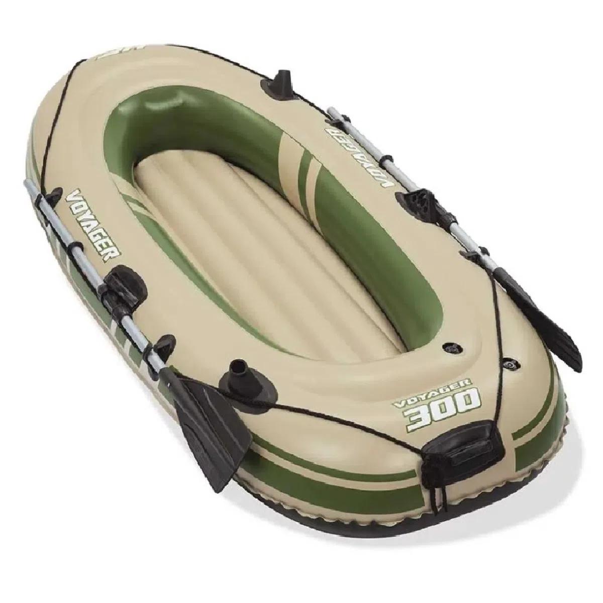 Bote inflável Para 2 Pessoas Bestway Voyager 300 Com Remos