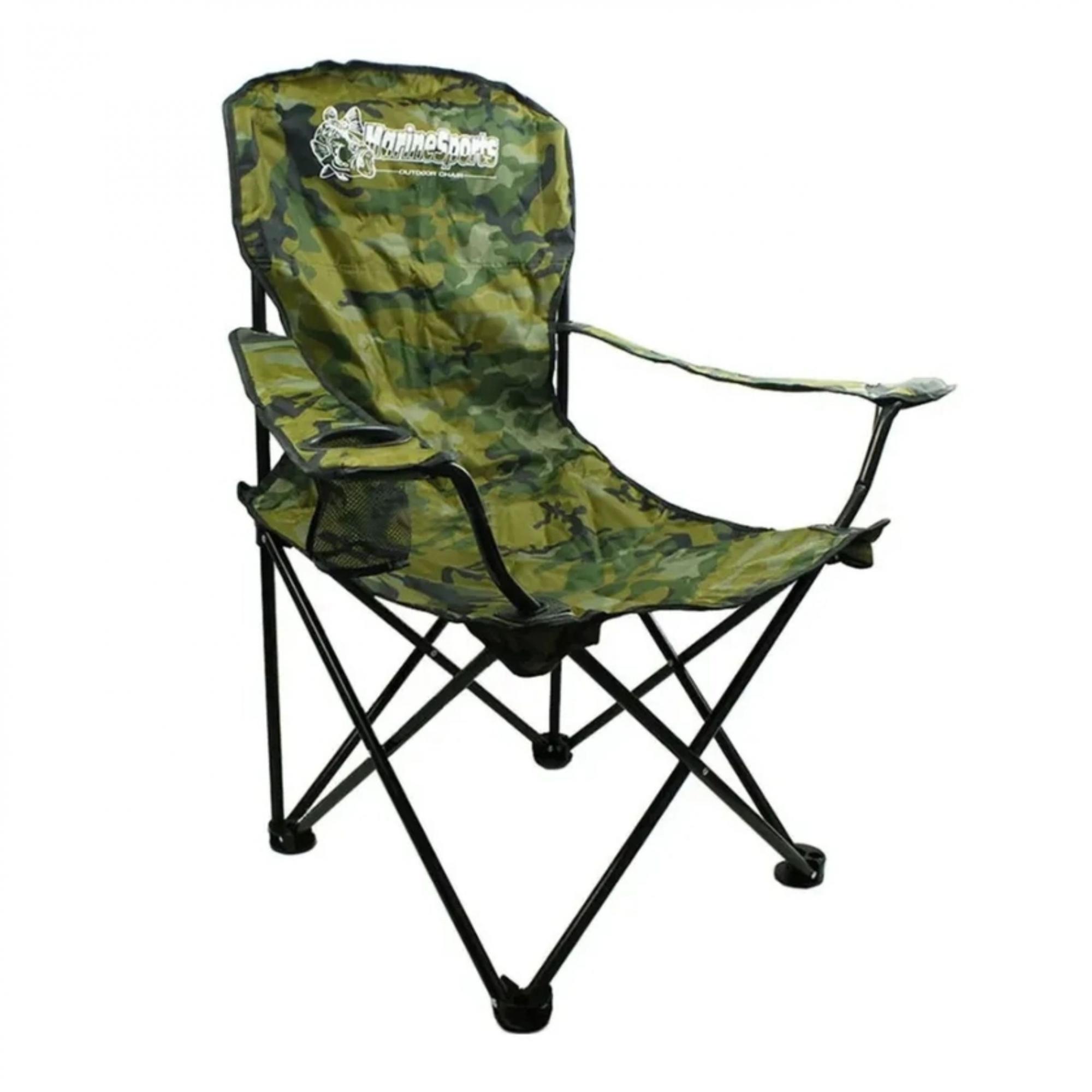 Cadeira Dobravel Marine Diretor Xd-07 Com Porta Copos
