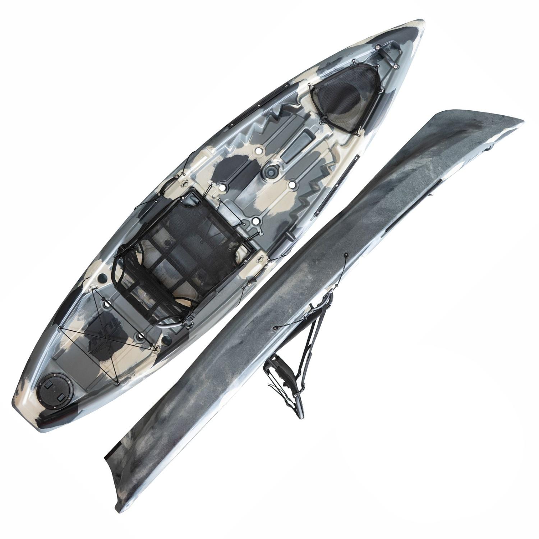 Caiaque De Pesca Tuna Pro Hidro 2 Eko Com Remo e Cadeira  - Pesca Adventure