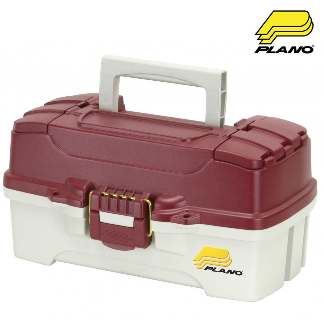 Caixa de Pesca Plano 6201-06 com 1 Bandeja e 1 Suporte para Spinner Bait