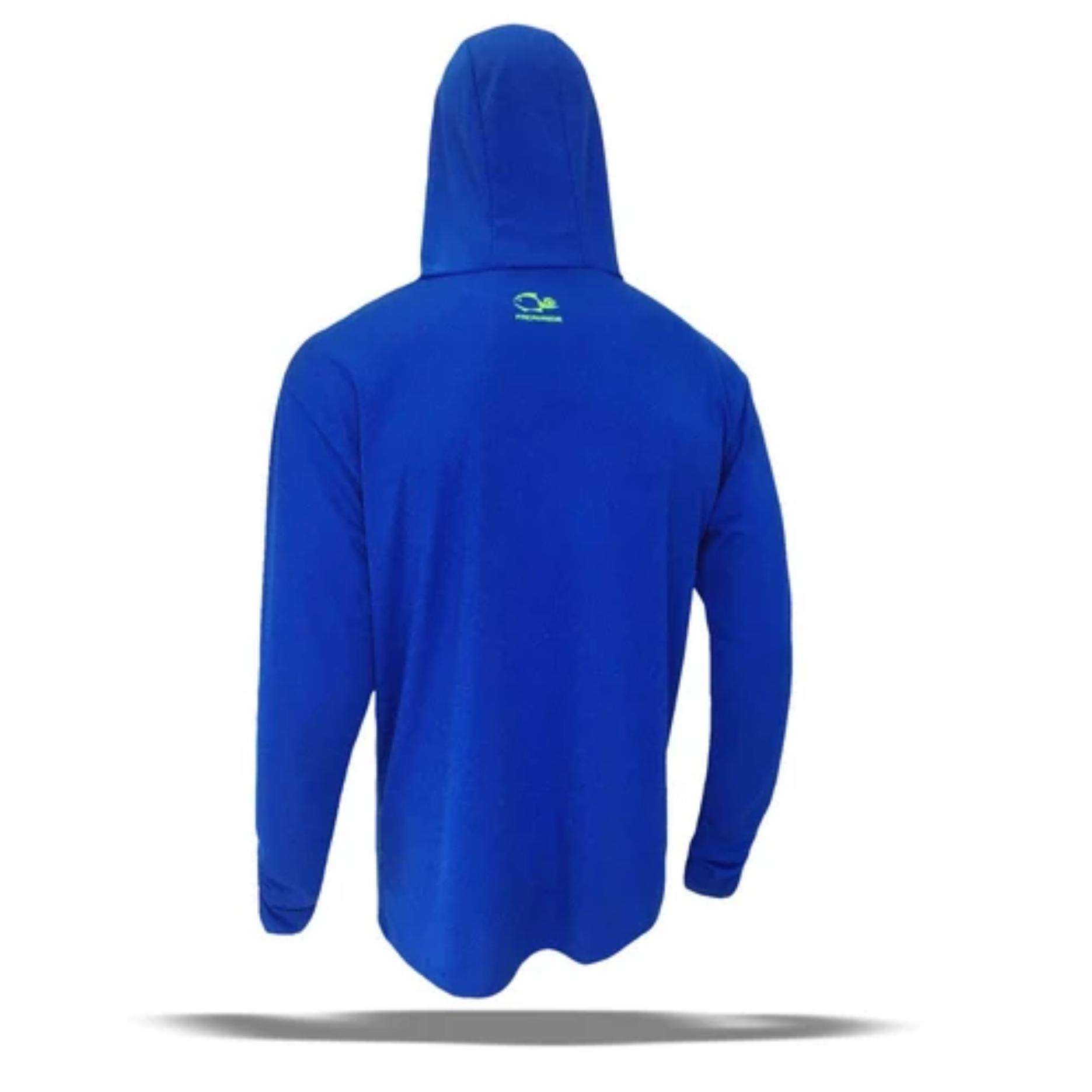 Camisa Faca na Rede Next Azul Royal  - Pesca Adventure