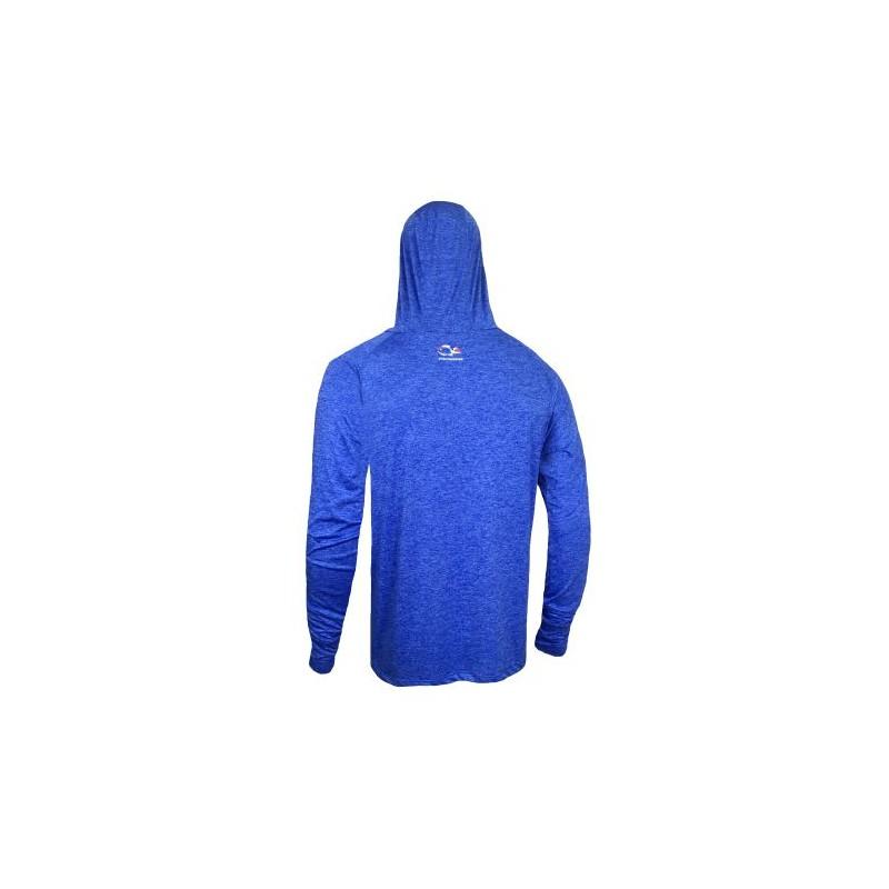 Camisa Faca na Rede Ride One - Azul  - Pesca Adventure