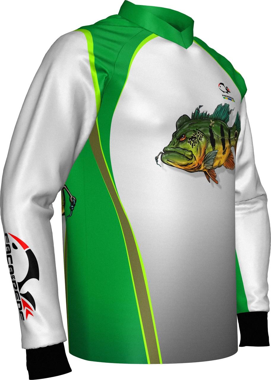 Camiseta De Pesca Faca na Rede Combat Tucunaré  - Pesca Adventure