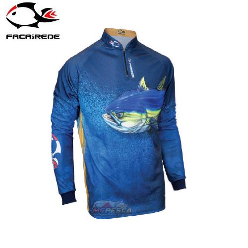 Camiseta Faca na Rede Evo Atum Extreme Dry 2018/2019