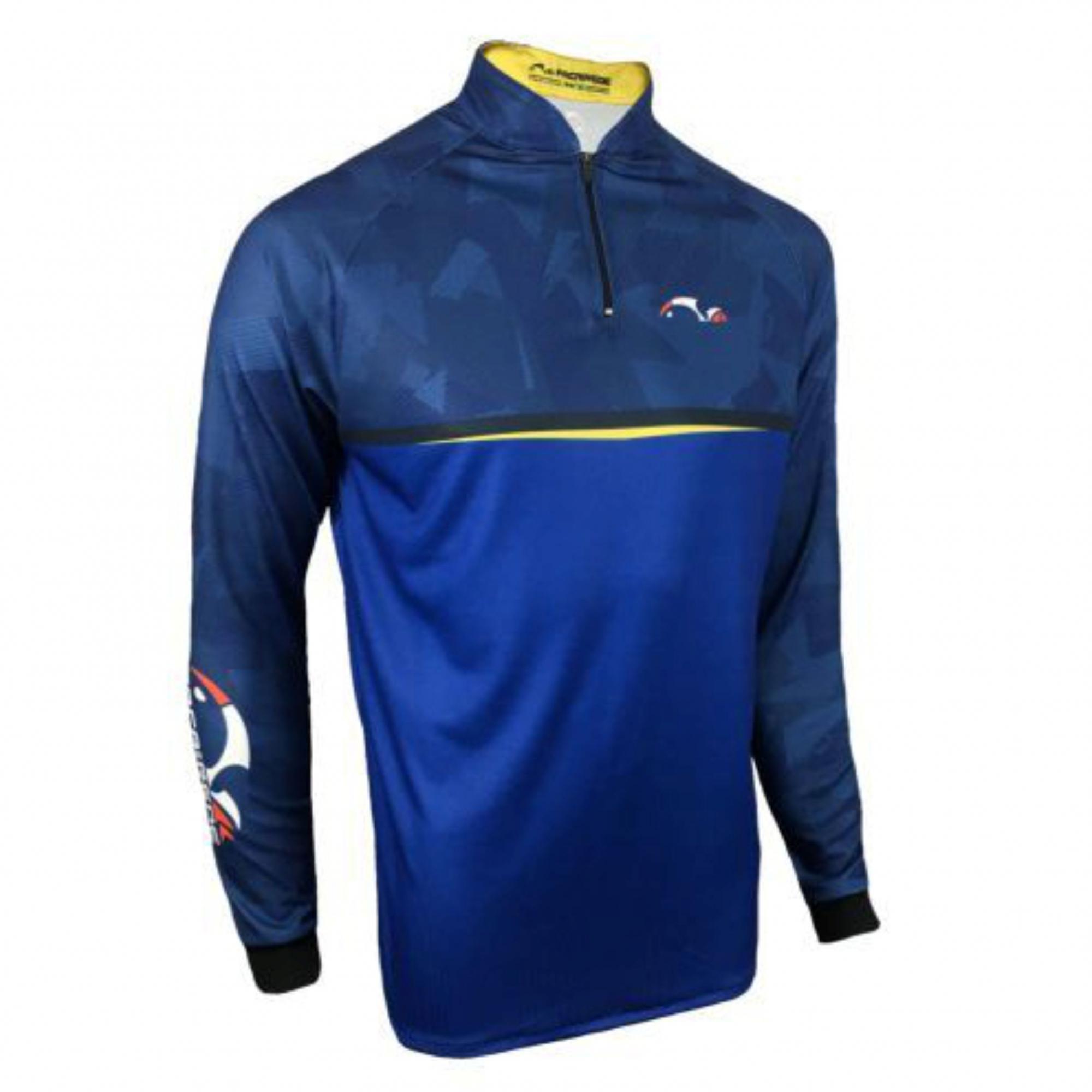 Camiseta Faca na Rede Evo Blue 2020/2021  - Pesca Adventure