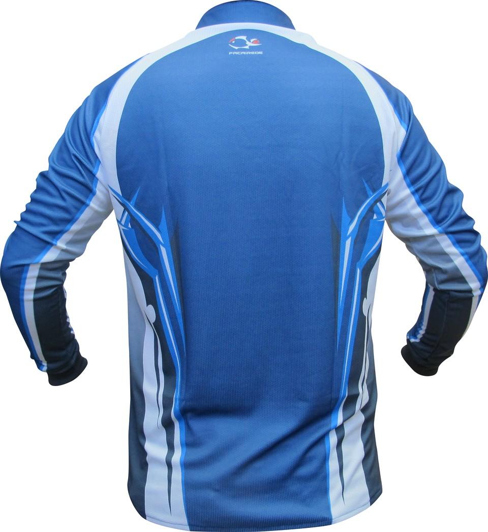 Camiseta Faca na Rede Evo Clean Azul 02  - Pesca Adventure