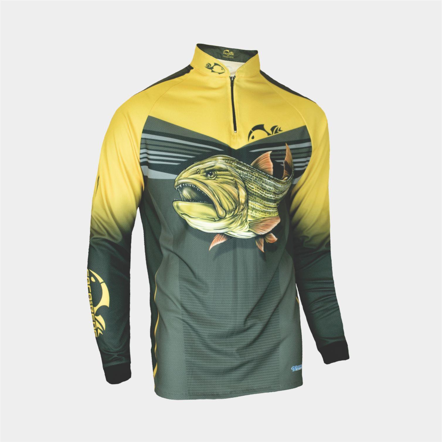 Camiseta Faca na Rede Evo Dourado Extreme Dry Coleção 2019/2020