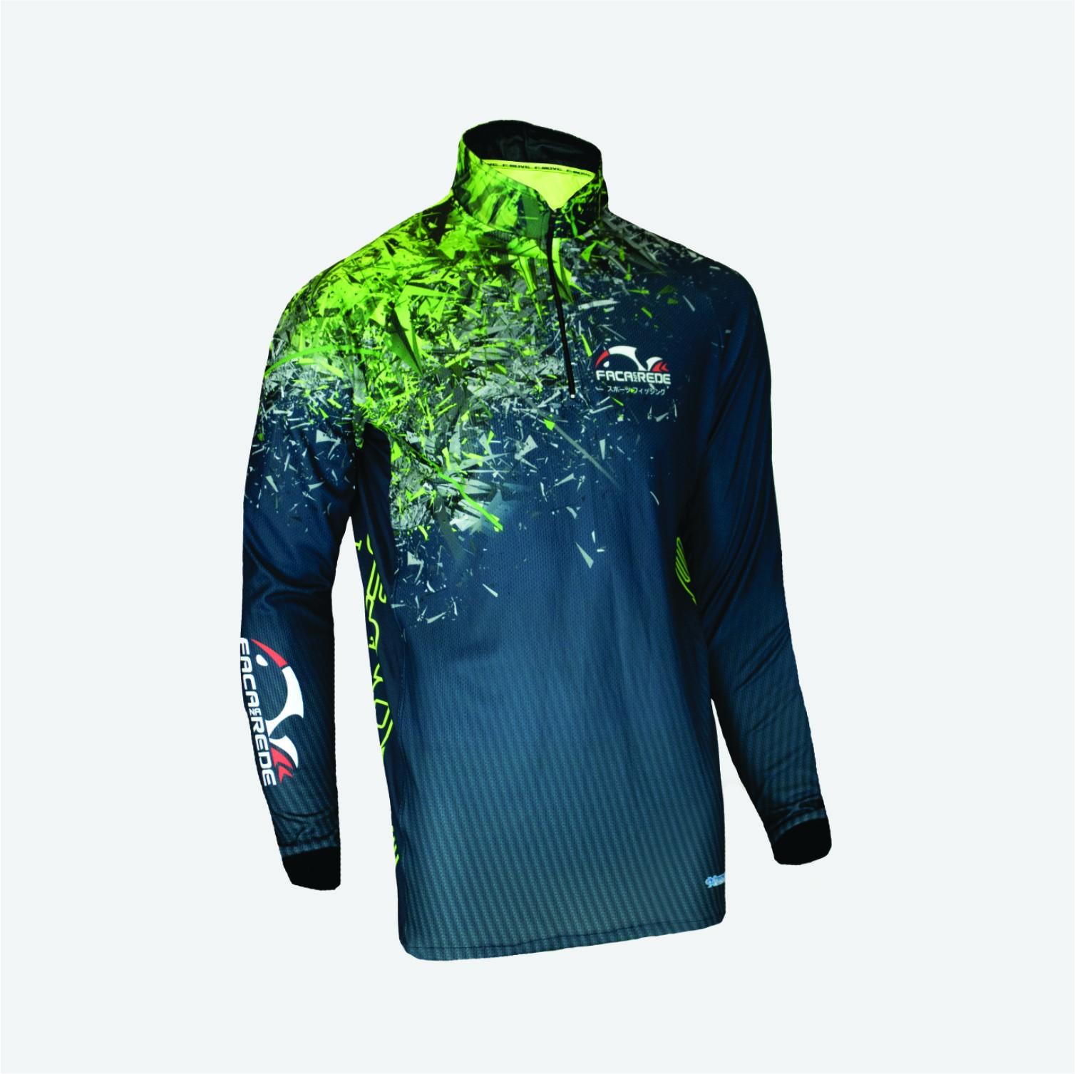Camiseta Faca Na Rede Evo F-Move Sixx Extreme Dry Coleção 2019/2020