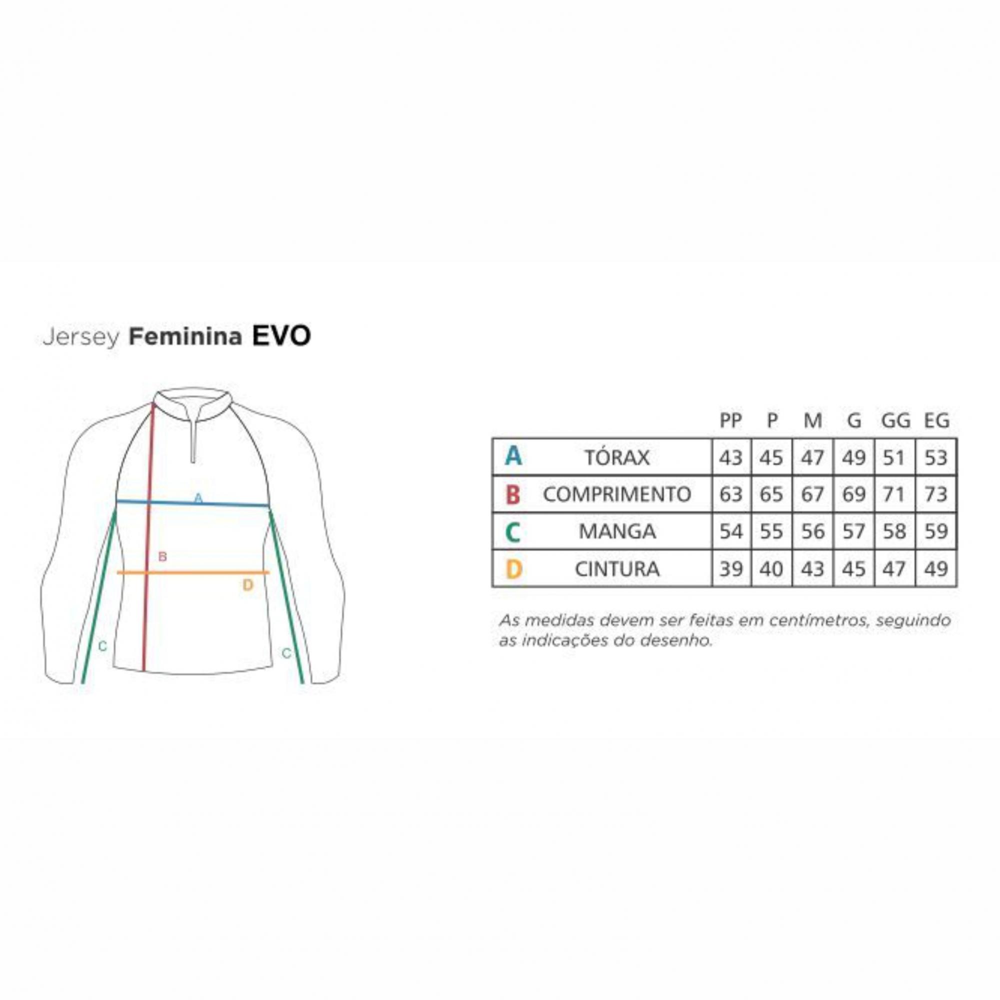Camiseta Faca na Rede Evo Girl Oceano  2020/2021  - Pesca Adventure