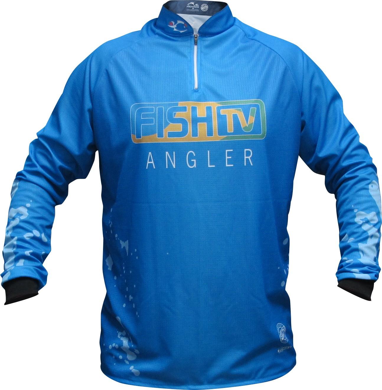 Camiseta Faca na Rede Fish TV Angler Jersey LC 02