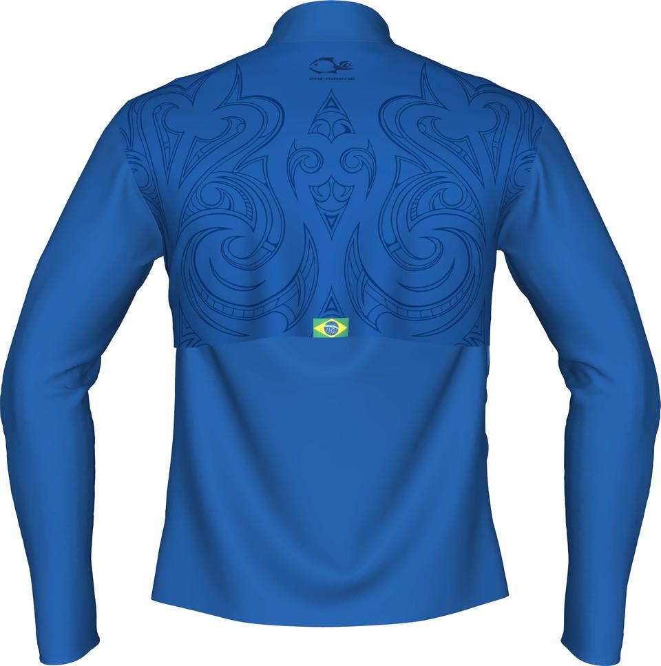 Camiseta De Pesca Faca na Rede New Maori  - Pesca Adventure