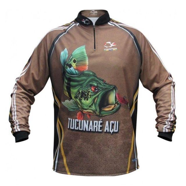 Camiseta Faca na Rede Tucunaré Açu Jersey NC 20