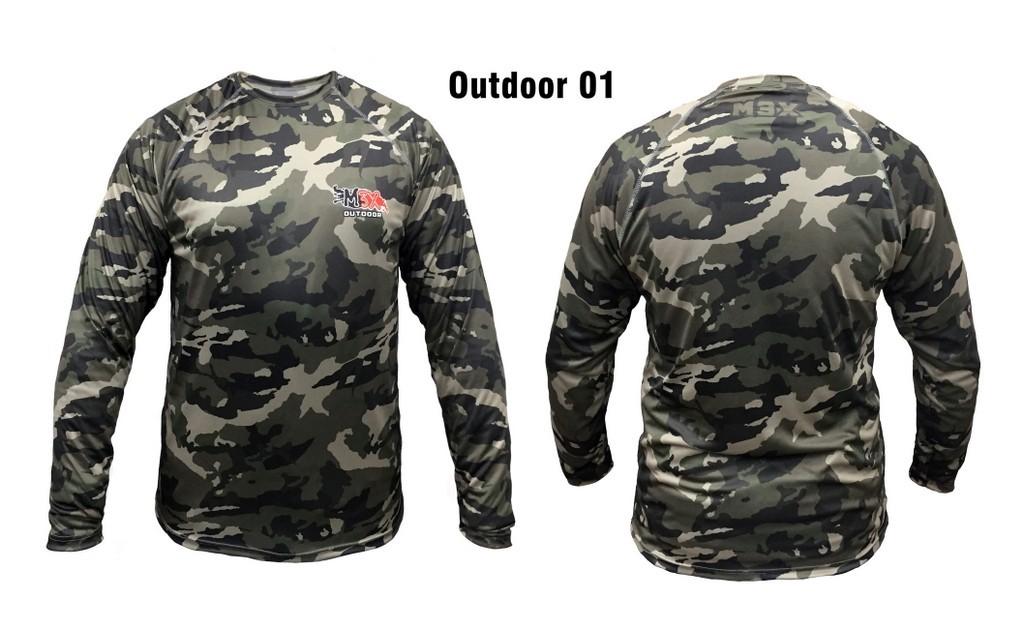 Camiseta Monster 3X Outdoor 01  - Pesca Adventure