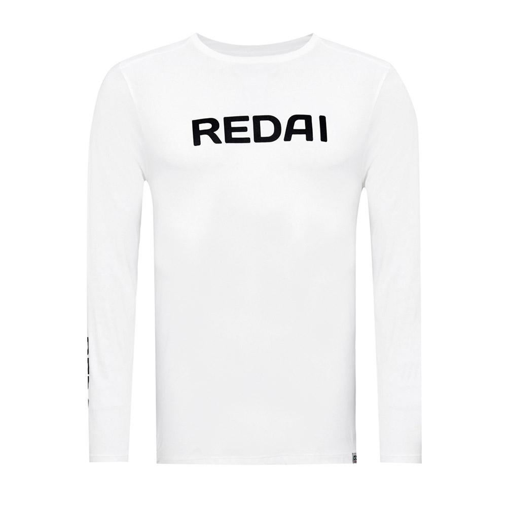 Camiseta Redai Performance Team Branco Manga Longa  - Pesca Adventure
