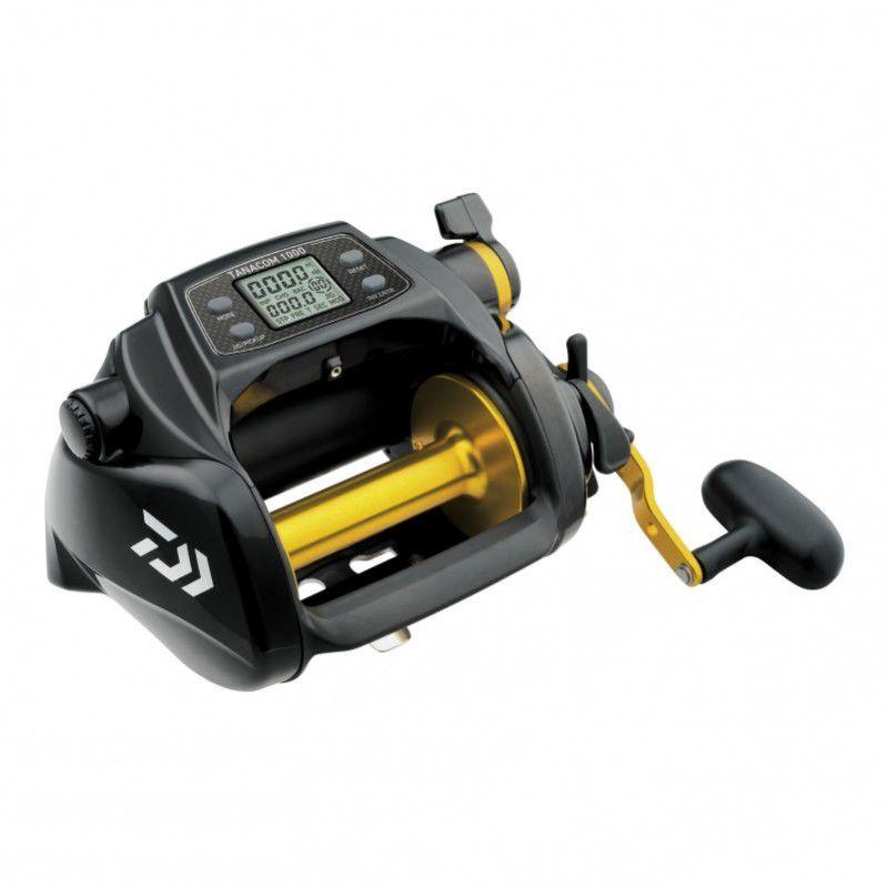 Carretilha Elétrica Daiwa Tanacom 1000 Drag 22 kg  - Pesca Adventure