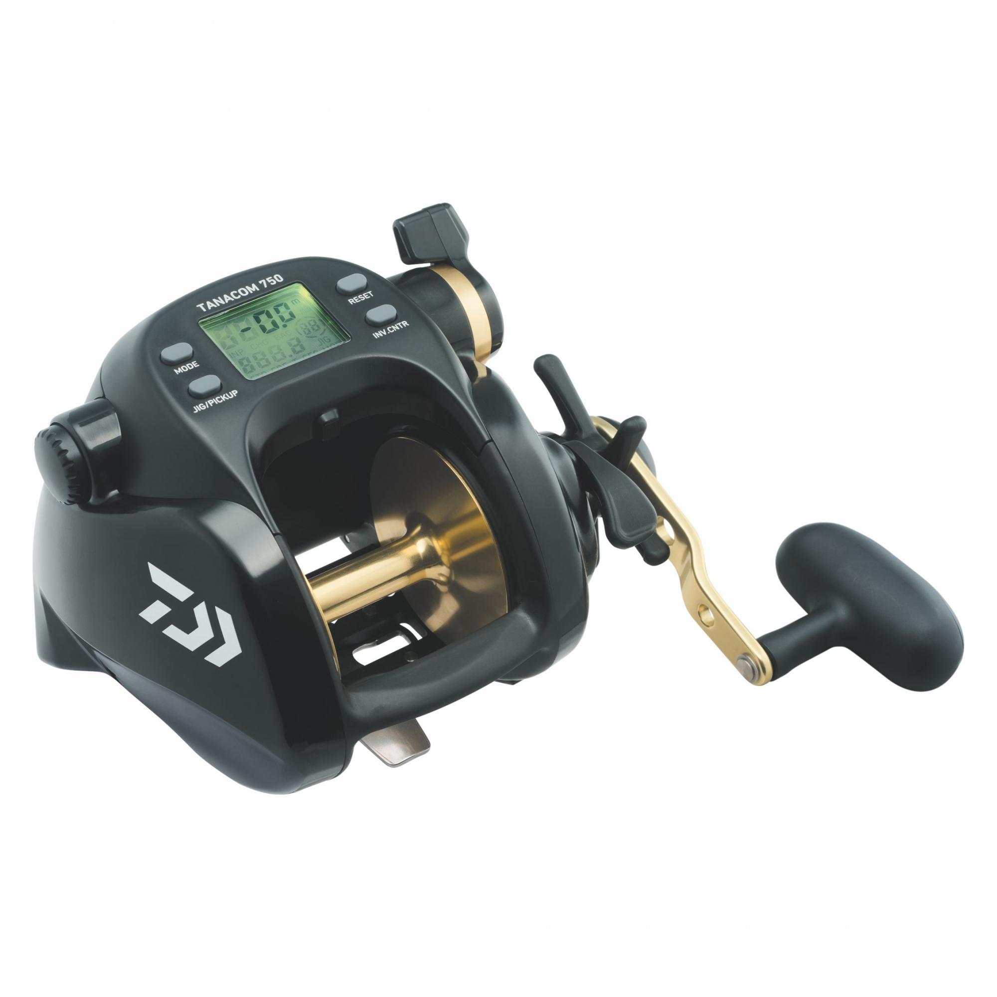 Carretilha Elétrica Daiwa Tanacom 750 Drag 22 kg  - Pesca Adventure