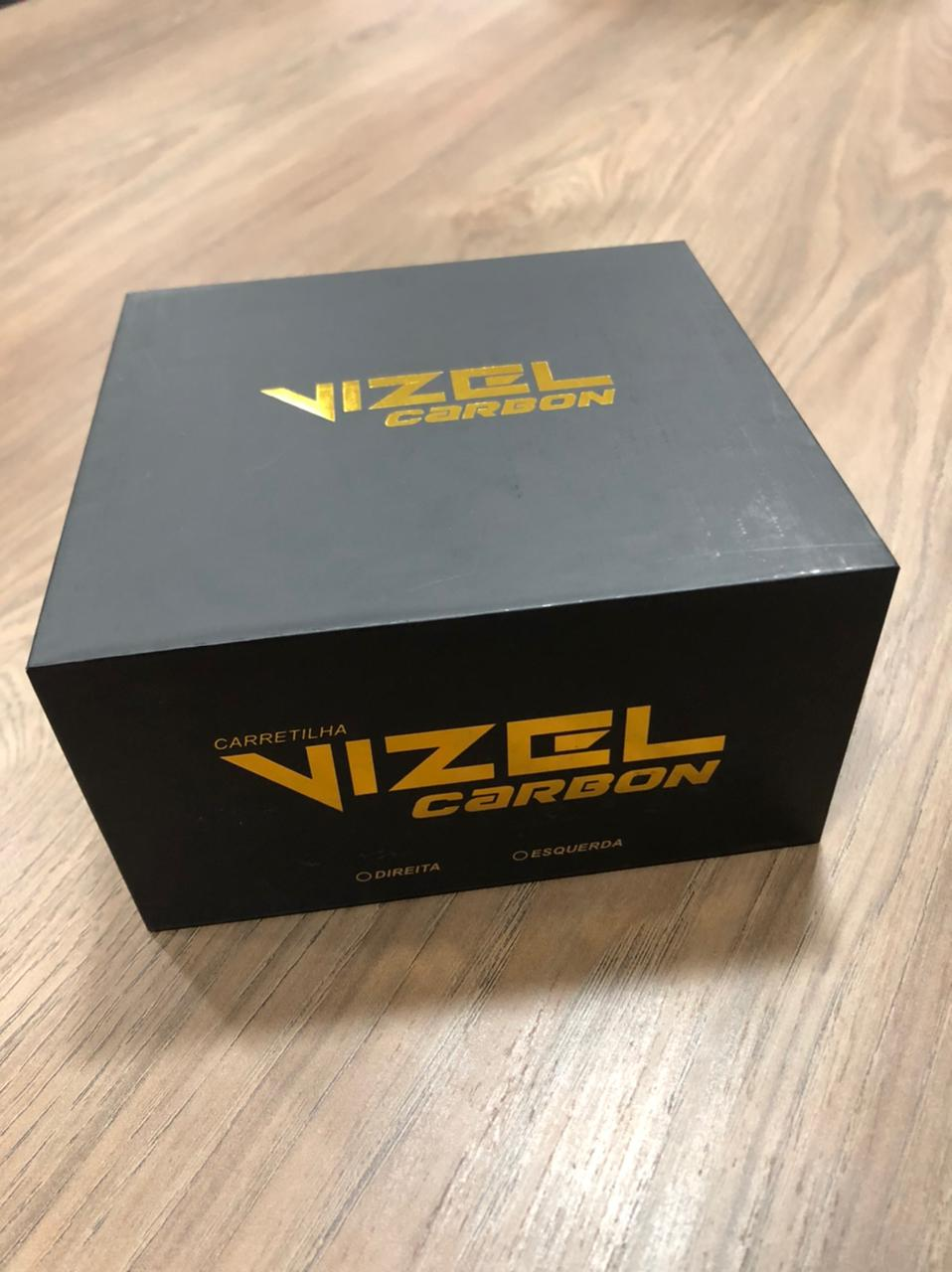 Carretilha Saint Vizel Carbon 12000 Rec 8.1:1 Drag 8kg  - Pesca Adventure