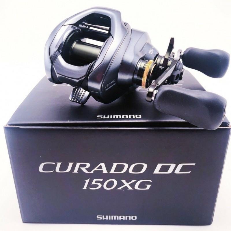 Carretilha Shimano Curado DC 150/151 XG Drag 5kg  - Pesca Adventure