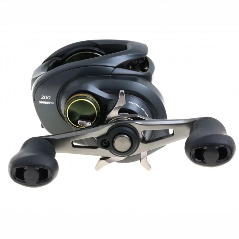 Carretilha Shimano Curado K 200/201 Xg 8.5:1  - Pesca Adventure
