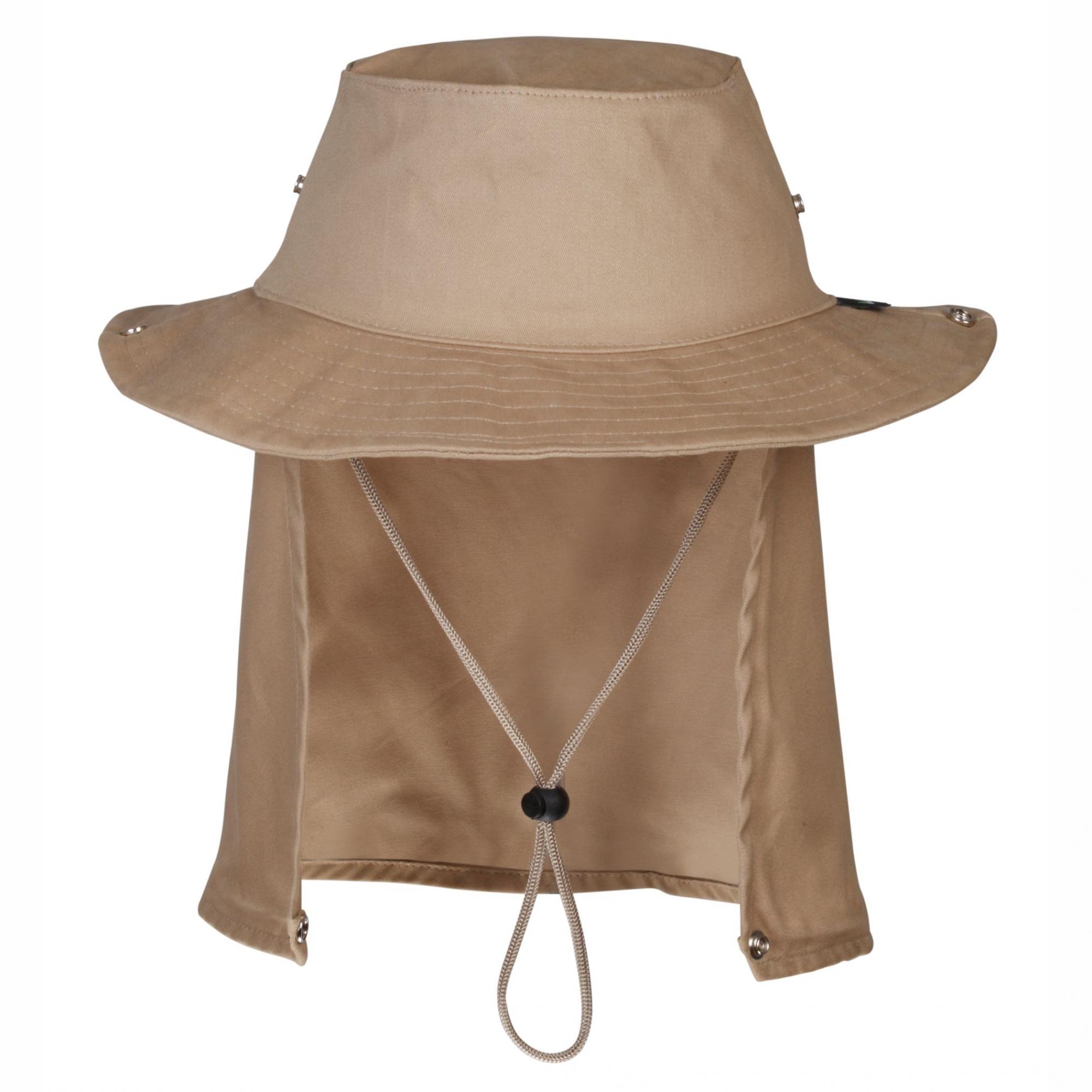 Chapéu Jogá Safari com Proteção Caqui