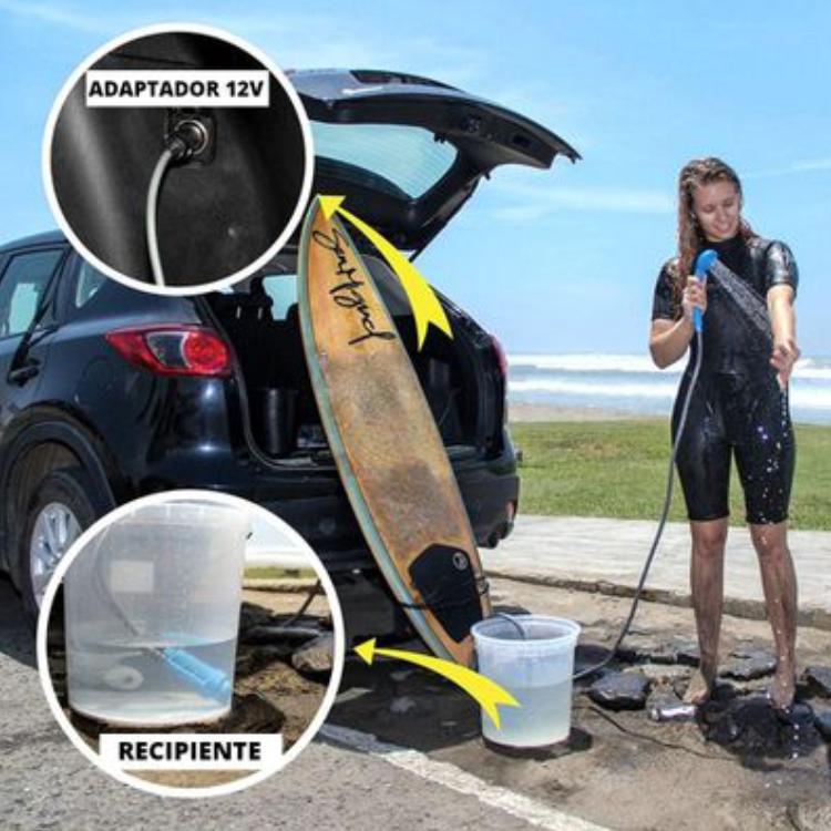 Chuveiro Ducha Portátil Shower Nautika  - Pesca Adventure
