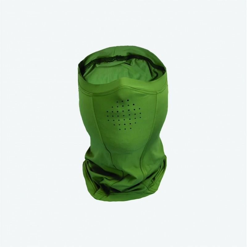Máscara Proteção Solar Faca na Rede Ice Mask Verde  - Pesca Adventure
