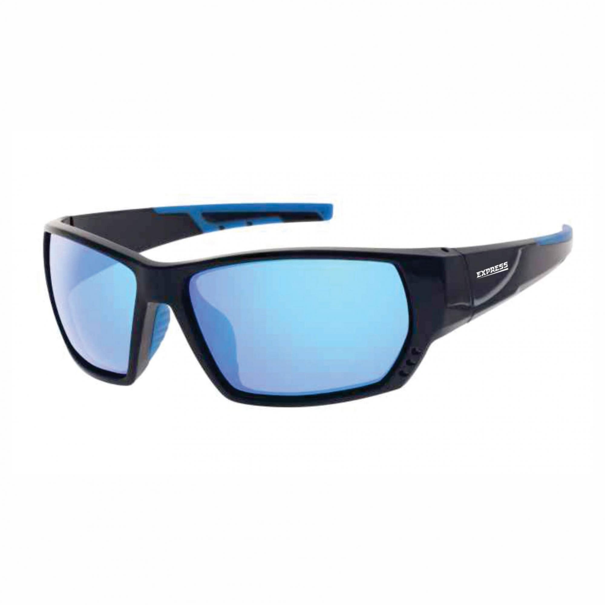 Óculos de Sol Polarizado Express Cação Azul Espelhado  - Pesca Adventure