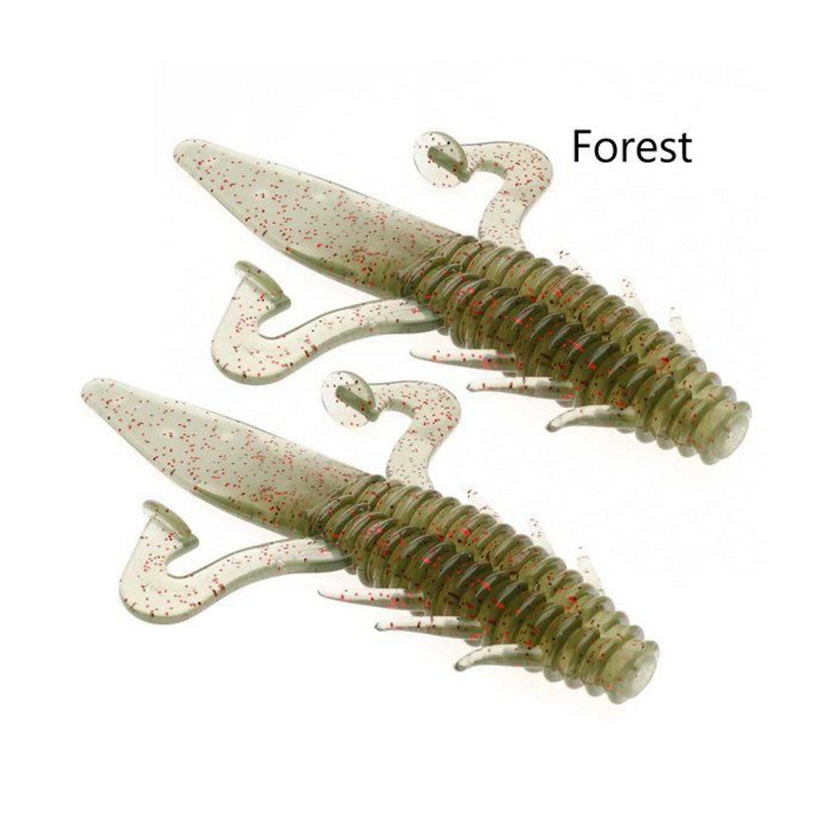 Isca Artificial Soft Cucaracha Animal Fishing By Johnny Hoffmann - 2un  - Pesca Adventure